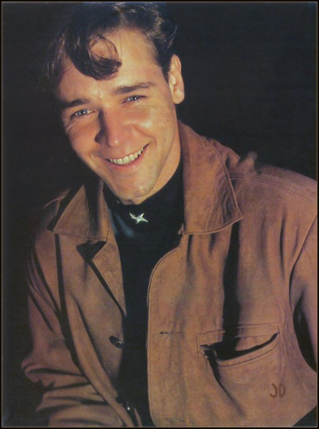 Young Russell Crowe